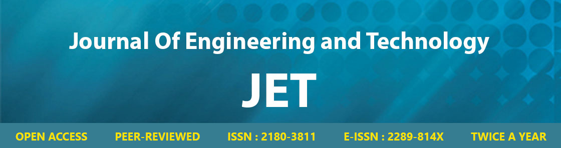 Journal of Engineering and Technology; JET; JET MTU; Journal MTU